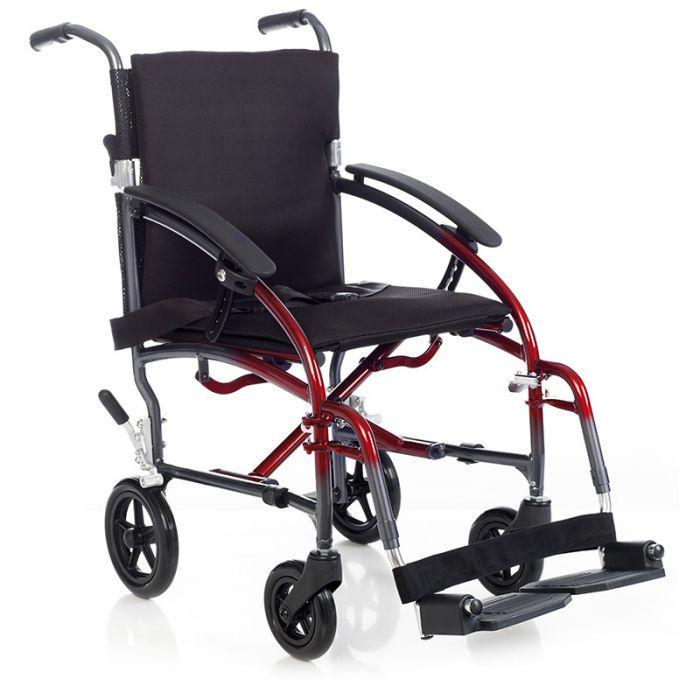Silla park aluminio de transito sillas de ruedas for Sillas de aluminio