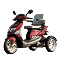 sillas de ruedas electricas, scooter discapacitados, Scooter Gasolina
