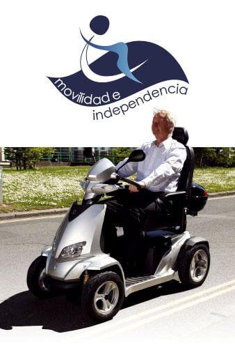 Sillas de ruedas motos y scooters para minusvalidos en for Sillas para motos